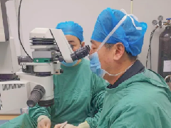 世界青光眼周,我院陈东院长为慕名来院的青光眼患者手术!